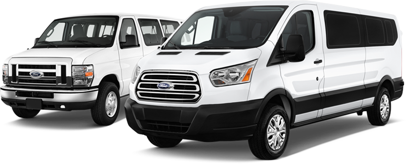 White Ford E-Series & Transit Van