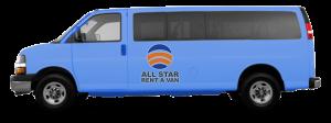 15 Passenger Van Rental San Diego